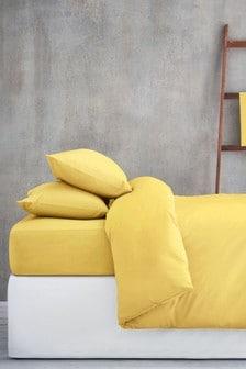 Funda de edredón y funda de almohada con alto contenido de algodón