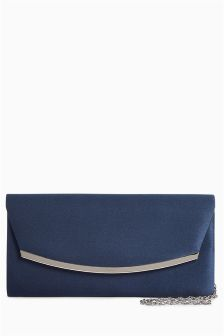 Curved Clutch Bag