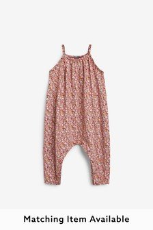 Jersey Playsuit (3mths-7yrs)