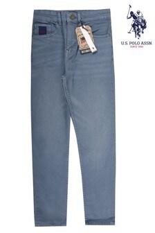U.S. Polo Assn. Blue Skinny Denim Jeans