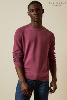 Ted Baker Purple Oonop Knitted Jumper