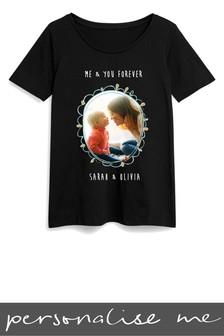 Personalised Mum Photo Printed T-Shirt