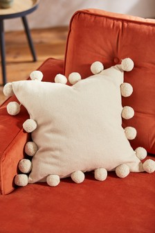 Pom Pom Edge Cushion