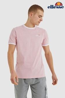 Ellesse Light Pink Meduno T-Shirt