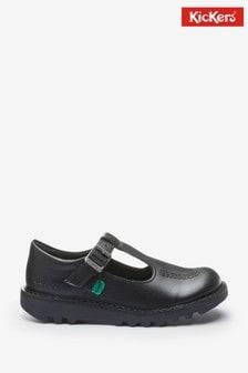 Kickers Infants Kick-T Leather Shoes