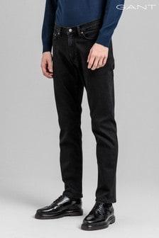 GANT Slim Black Jeans