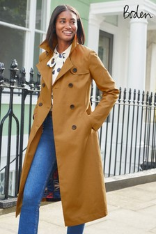 Boden Camel Franklin Trench Coat
