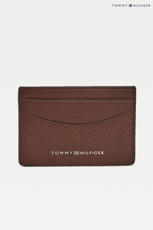Tommy Hilfiger Brown Business Mini Card Holder