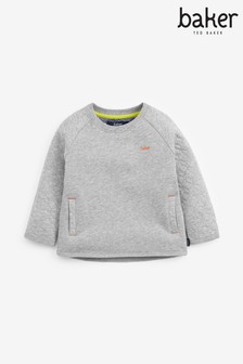 Baker by Ted Baker Boys Grey Marl Sweatshirt