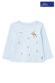 Joules Blue Peter Rabbit Angus Artwork Top