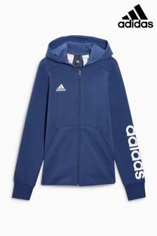 adidas Navy Linear Hoody