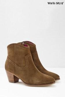 White Stuff Camilla Cuban Heel Ankle Boots
