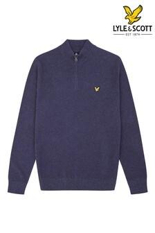 Lyle & Scott Plus Size 1/4 Zip Knitted Jumper