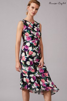 Phase Eight Multi Adriana Floral Jersey Dress