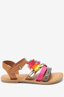 Tassel Boho Sandals (Older)