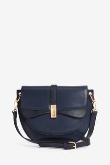 Vintage Style Across Body Saddle Bag