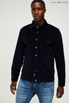 Tommy Hilfiger Blue Corduroy Overshirt