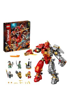 LEGO 71720 NINJAGO Fire Stone Mech Ninja Action Figure Toy