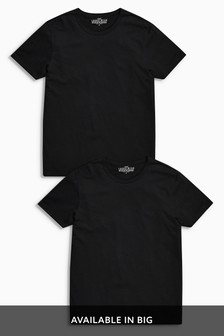 T-Shirts Pure Cotton Two Pack
