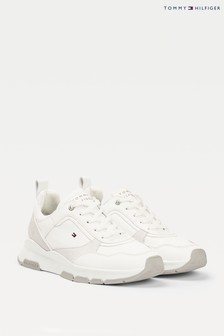 Tommy Hilfiger White Sporty Chunky Trainers