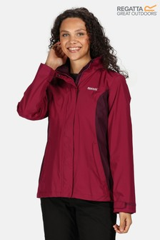 Regatta Purple Daysha Waterproof Jacket
