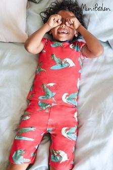 Boden Red Cosy Short John Pyjamas