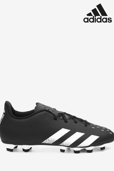 adidas Black Predator P4 Firm Ground Football Boots