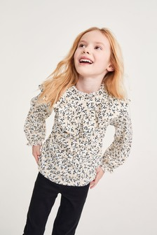 Frill Detail Blouse (3-16yrs)