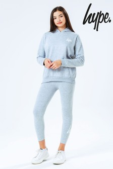 Hype. Grey Kids Hoodie And Leggings Set