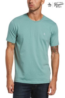 Original Penguin® Blue Small Logo T-Shirt