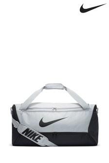 Nike Black/Grey Duffle Bag