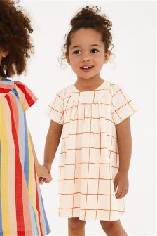 Grid Dress (3mths-6yrs)