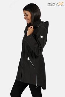 Regatta Black Alerie Waterproof Jacket