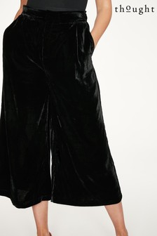 Thought Black Veronica Culottes