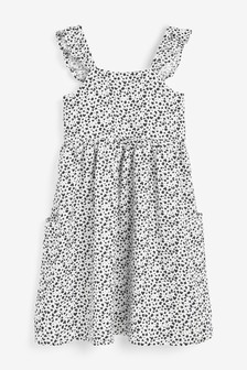 Frill Strappy Dress (3-16yrs)