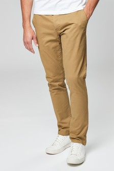 953476a1998e Buy Men's trousers Chino Chino Brown Brown Trousers from the Next UK ...