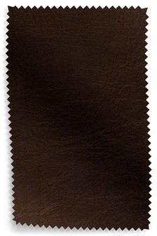 Cuba Dark Brown Upholstery Leather Sample
