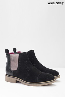 White Stuff Layla Brogue Chelsea Boots