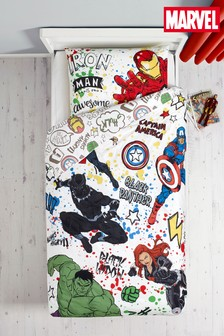 Marvel® Avengers Duvet Cover and Pillowcase Set