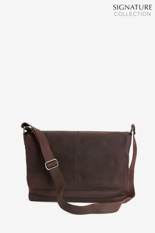 41b461895d Signature Leather Messenger