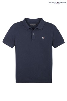 Tommy Hilfiger Blue Back Graphic Polo