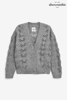 Abercrombie & Fitch Crochet Knit Cardigan