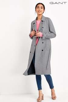GANT Gingham Trench Coat