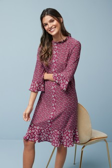 Flippy Hem Dress