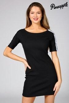 Pineapple Exclusive T-Shirt Rib Tape Dress