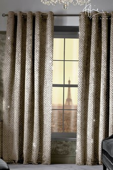 Kylie Grazia Eyelet Curtains
