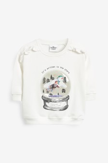 Snowman Interactive Crew Neck Sweater (3mths-7yrs)