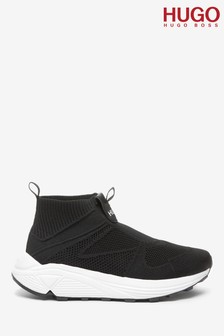 HUGO Black Horizon Sock Trainers