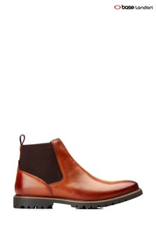 Base London Tan Anderson Chelsea Boots