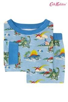 Cath Kidston® Kids White Dino Jersey Pyjamas
